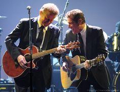 Don Henley and Glenn Frey