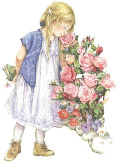 Lisi  Martin - stopping to smell the roses