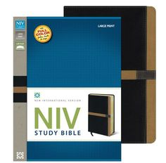 "[""The <i>NIV Study Bible<\/i> is the bestselling study Bible in the world\u2019s most popular modern English Bible translation - the <i>New International Version<\/i>. It features a stunning interior with full-color photographs, \r\nmaps, charts and illustrations. The \r\nin-depth notes are coded to highlight items of special interest in the \r\nareas of character study, archaeology and personal application.<br><br>Visually arresting section breaks help you find your bearing in the ..."