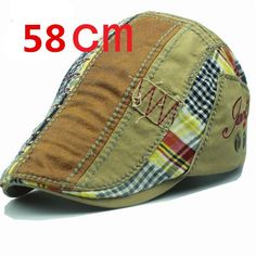 Xthree Fashion Beret hat casquette cap Cotton Hats for Men and Women  children s Visors Sun hat Gorras Planas Flat Caps 01101f4ca61