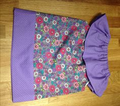 Pillowcase Dress with ruffle, baby dress, toddler dress, girls dress, purple…