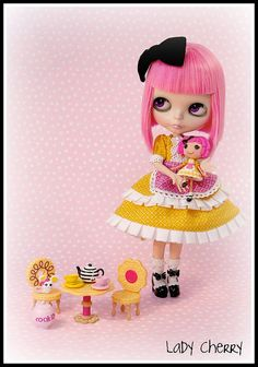 Mia & Cookie by ♥ Lady Cherry ♥, via Flickr