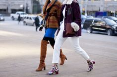 (ontheLeft)Winter Street Style From Fashion Week | StyleCaster