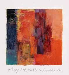 may242013 | oil on canvas 9 cm x 9 cm hiroshi matsumoto www.… | Flickr