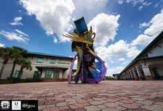 Repost from @fgcu using @RepostRegramApp - #FGCU #ArtOnCampus #CrossCurrents @paleystudios #FloridaGulfCoastUniversity