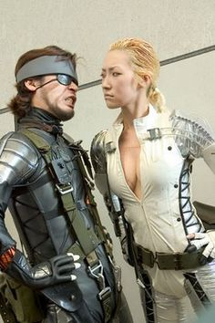 Snake vs. The BOSS from Metal Gear Solid 3 : Snake Eater