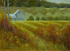 Autumn Tapestry by Deborah Angilletta Oil ~ 12 x 16