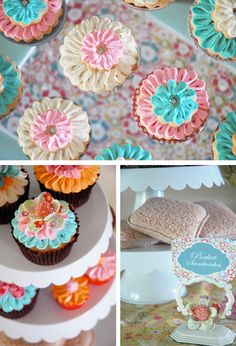 These are soooo pretty...maybe for Easter, Mother's Day or even a baby girl baby shower?