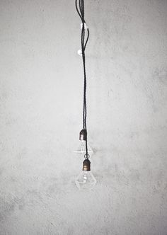 by Eric Therner light hanging cord tape grey