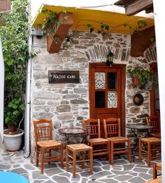 GREECE CHANNEL | #Traditional #cafe in #Naxos http://www.greece-channel.com/