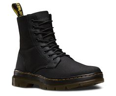The Combs Fold Down Boot is lightweight yet heavy duty. This boot features the classic Dr. Martens yellow stitching and logo heel tab details. The air-cushioned sole provides extra comfort. Dr Martens Airwair, Botas Doc Martens, Doc Martens Stiefel, Doc Martens Style, Doc Martens Outfit, Botas Outfit, Nylons, Divas, Minimalist Shoes