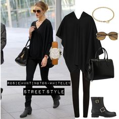rosie huntington-whiteley style winter - Google Search
