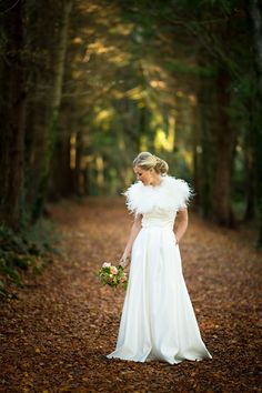 Woodland Magic…A Real Irish Wedding  by Poppies and Me