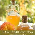 8 Non-Traditional Uses for Kombucha... If you run out of bottles/jugs and need some uses for your kombucha, substitute it for the multiple uses of vinegar!
