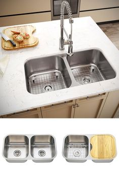 Our Stainless Steel Kitchen Sinks Are Fully Insulated With Sound Magnificent Stainless Kitchen Sinks Design Inspiration