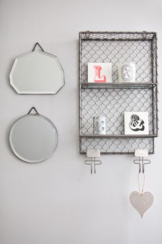 Tribecca Wall Rack, to make use of space on the walls and hang quirky prints. #LessOrdinaryBedroom #NotOnTheHighstreet