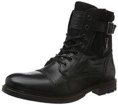 Zapatos negros Slimbridge para hombre NFB1ZR