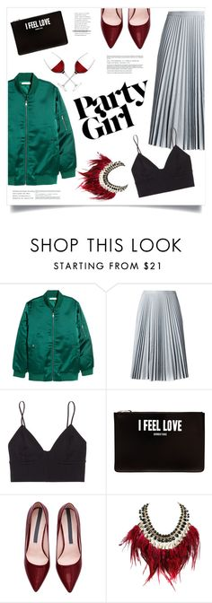 """""""Have A Good Time All The Time"""" by marina-volaric ❤ liked on Polyvore featuring H&M, Drome, Wilfred Free, Givenchy, WithChic, LSA International and galentinesday"""