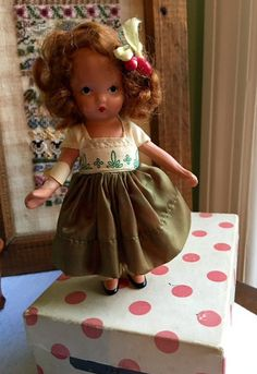 Nancy Ann Storybook Series Doll  129 Annie At The by Jewelmoon