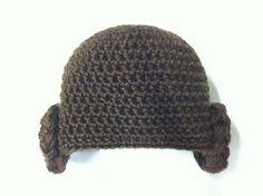Princess Leia crochet hat Vivi fez arte #starwars #princessleiacrochethat #crochet