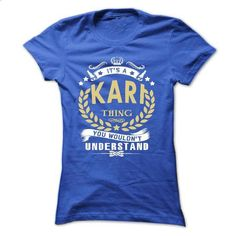 Its a KARI Thing You Wouldnt Understand - T Shirt, Hood - #hoodie schnittmuster #sweatshirt hoodie. PURCHASE NOW => https://www.sunfrog.com/Names/Its-a-KARI-Thing-You-Wouldnt-Understand--T-Shirt-Hoodie-Hoodies-YearName-Birthday-Ladies.html?68278