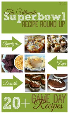 20+ Superbowl Game Day Recipes | This Girl's Life Blog