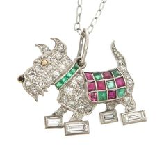 Enchanting Animal-Themed Jewels Make Great Pets Dog Jewelry, Animal Jewelry, Jewelry Art, Antique Jewelry, Vintage Jewelry, Fine Jewelry, Jewelry Necklaces, Modern Jewelry, Jewelery