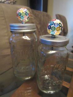Drawer Pulls dress up a mason jar