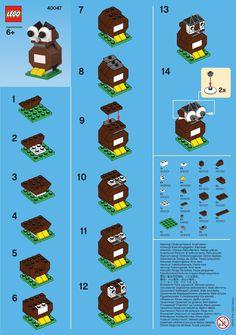 Owl Legos