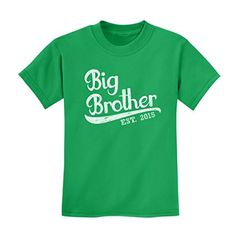 Gift for Big Brother 2015 Kids T-shirt X-Small Green TeeStars http://www.amazon.com/dp/B00UFVNHBI/ref=cm_sw_r_pi_dp_osF4vb1NBY4G7