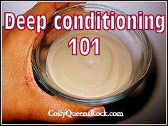 CoilyQueens™ : Deep conditioning tips