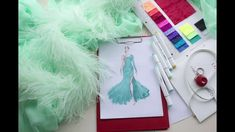 Sketching a ballroom gown - Ballroom Gowns, Sketching, Sparkle, Diy Crafts, Make It Yourself, Blog, Gala Dresses, Clearance Prom Dresses, Social Dresses
