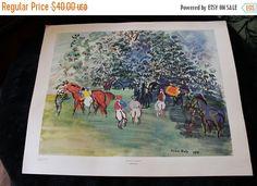 Christmas In July Jockeys at Paddock by by MagnoliaRestorations
