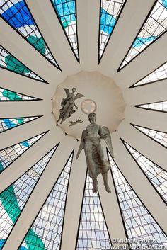 Cathedral of Brasilia Interior - In memory of Oscar Niemeyer - http://andrewprokos.com