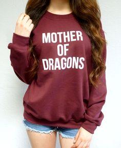 Mother of Dragons Game of Thrones Sweatshirt - Khaleesi
