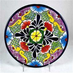"Talavera Luncheon Plate - 9.5"""