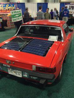 EVA DC creation Solar EV at the 2014 Washington DC Autoshow Electric Charge, Washington Dc, Solar