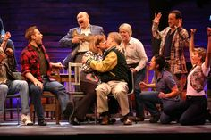 The Ford's Theatre cast of 'Come From Away.' Photo by Carol Rosegg. Come From Away, Metro Theatre, Stage Play, Music Theater, Old Hollywood, Musicals, Broadway, Ford, Singer