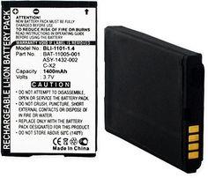 Empire Scientific BLI-1101-1.4 Blackberry 8800 Li-Ion 1400Mah