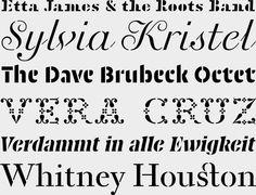 Fred Smeijers endlich einem seiner liebsten Themen an und hat zusammen mit den OurType-Designern Maurice Göldner, Pierre Pané-Farré & Thomas Thiemich eine ganze Serie unterschiedlichster Schablonenschriften veröffentlicht, eine aufregender als die andere. http://www.fontshop.com/fonts/downloads/ourtype/puncho__orly_stencil__standingtype_pack/ via #typefacts