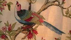 C1750-1780 French Indienne Block Printed Fabric by InksEclectic