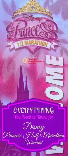 EVERYTHING You Need to Know for Disney Princess Half Marathon Weekend | DIStherapy #PrincessHalf