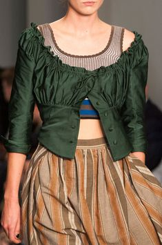 Vivienne Westwood at London Fashion Week Spring 2015 - Details Runway Photos