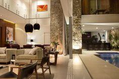 Área de lazer integrada à casa otimiza a função do espaço
