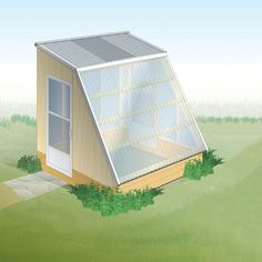 """""""Small-Greenhouse Plans for Winter Growing"""" Forget simply stretching the season by a matter of weeks. Our innovative small-greenhouse plans take solar gain to the nth degree, with a design that's optimized for winter growing. We'll show you how to build a"""