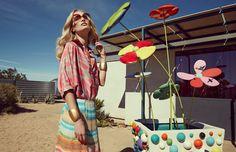 visual optimism; fashion editorials, shows, campaigns & more!: retro super future: melissa tammerijn by danilo hess for elle mexico march 2015