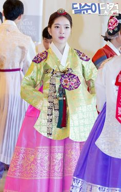 DalShabet AhYoung @ Korean Traditional Clothing 'Hanbok' Fashion Show