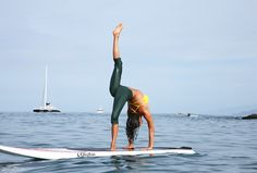 Four Seasons Maui SUP Yoga - not exactly what i do everyday but i would like to.