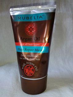 Hair Repair Mask Argan Oil 150ml / 5.07 Fl.Oz. RUBELIA >>> You can get additional details at the image link.