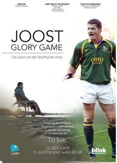 Glory Game - The Joost van der Westhuizen story - blinkpictures.net